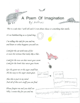 A Poem of Imaginationby Anthony K.