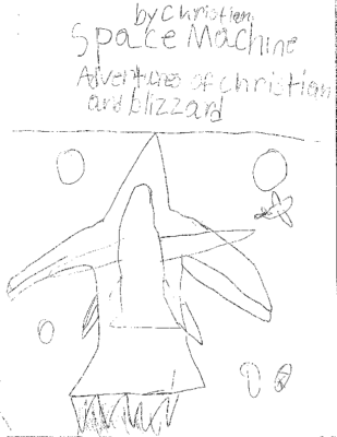 Space Machine Adventures of Christian and Blizzard  by Christian R.