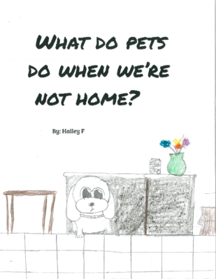 What Do Pets Do When We're Not Home? by Hailey F.