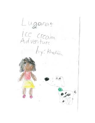 Lugana's Ice Cream Adventure by Khedija A.-Y.