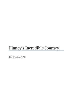 Finney's Incredible Journeyby Kinsley C.-W.