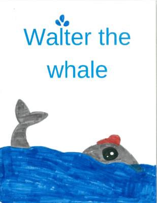 Walter the Whale by Saydee H.