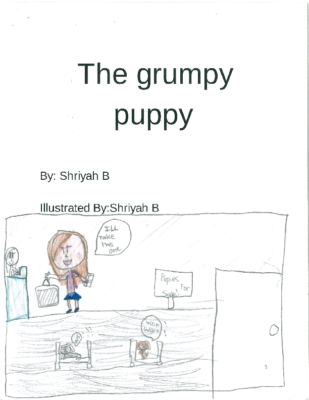 The Grumpy Puppy by Shriyah D. H.