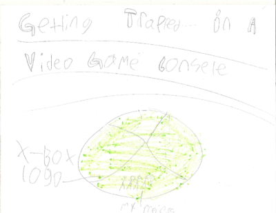 Getting Trapped in a Video Game Console by Carter G.