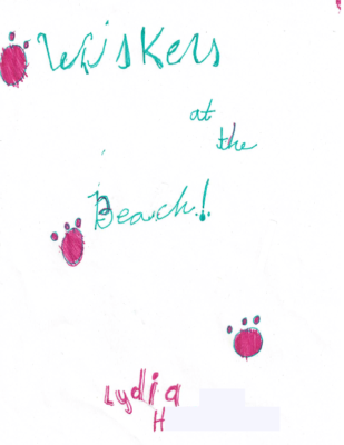 Whiskers at the Beach by Lydia H.