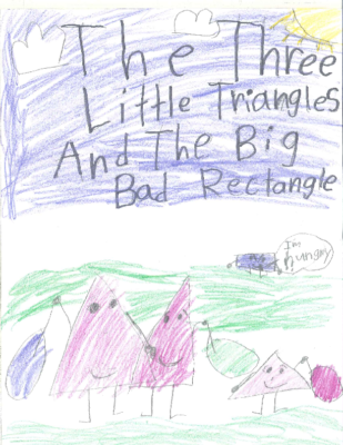 The Three Little Triangles and The Big Bad Rectangleby Maggie D
