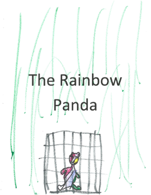 The Rainbow Panda by Tallulah H.