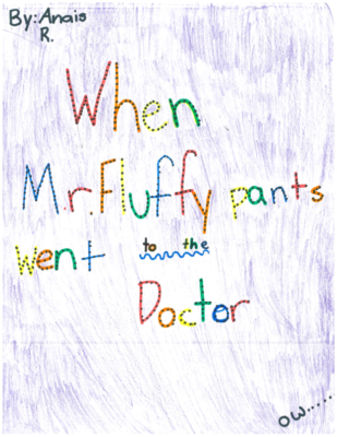 When Mr. Fluffypants Went To The Doctor by Anais R.