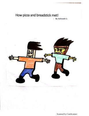 How Pizza and Breadstick Met! by Ashwath G.S.