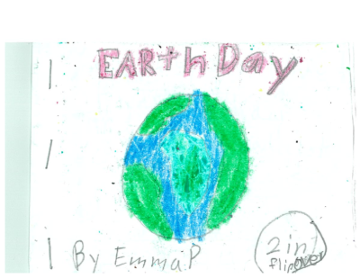 Earth Day/Blue Moon by Emma P.