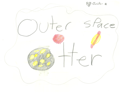 Outer Space Otter by Juniper G.