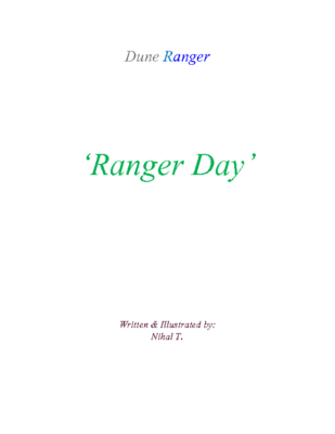 Dune Ranger – 'Ranger Day' by Nihal T.