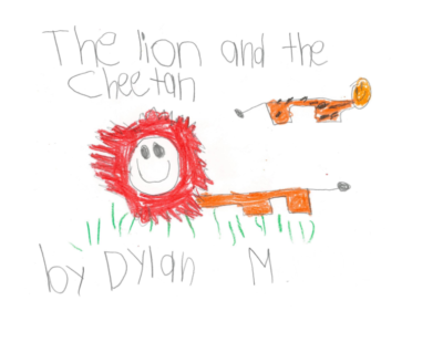 The Lion and the Cheetah by Dylan M.