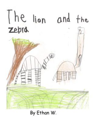 The Lion and the Zebra by Ethan W.