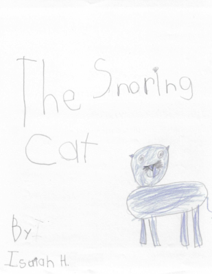 The Snoring Cat by Isaiah H.