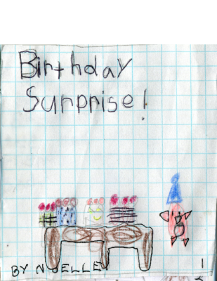 Birthday Surprise! by Noelle T.