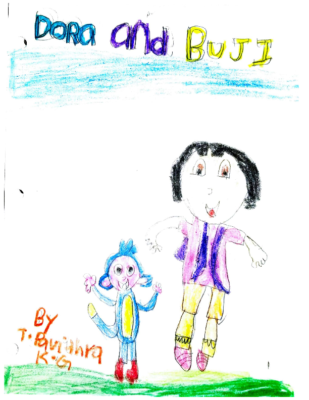 Dora and Buji by Pavithra T.