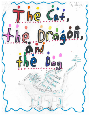 The Cat, the Dragon, and the Dog by Abigail S.