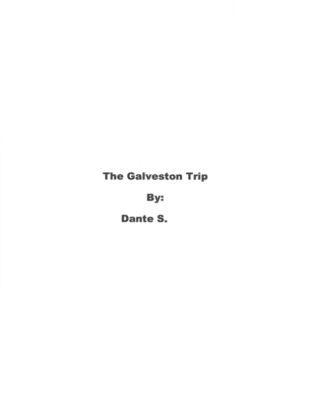 The Galveston Trip by Dante S.
