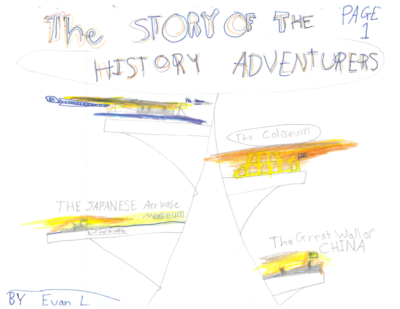 The Story of the History Adventurers by Evan L.
