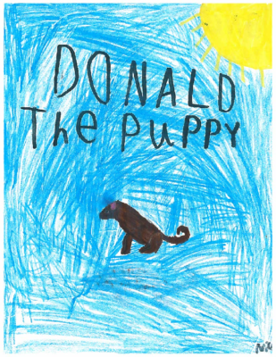 Donald The Puppy by Nico C.