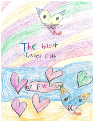 The Heart Shaped Cat by Evelynn M.