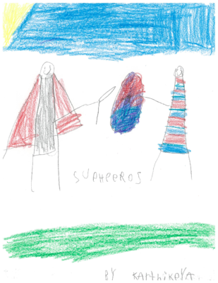 Super Heroes by Karthikeya C.