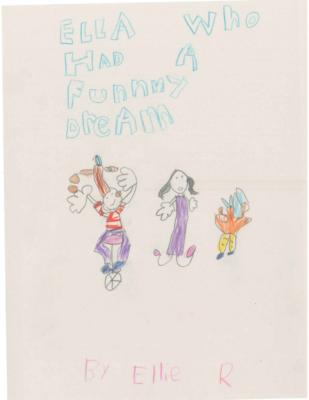Ella Who Had a Funny Dream by Ellie R.