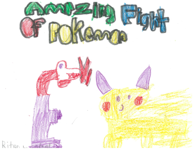 Amazing Fight of Pokemanby Carter E.