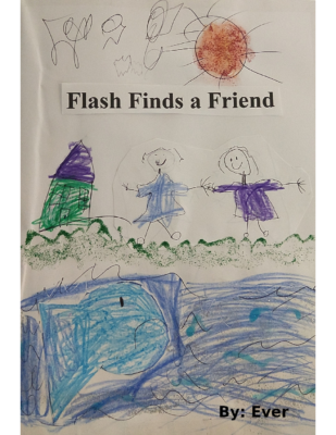Flash Finds a Friendby Everly W.