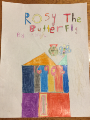 Rosy The Butterflyby Abigail G.