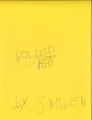 """Golden""by Sander A."