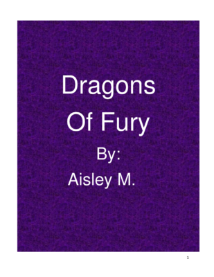 Dragons of Furyby Aisley M.