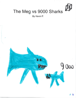 The Meg vs. 9000 Sharksby Kevin P.
