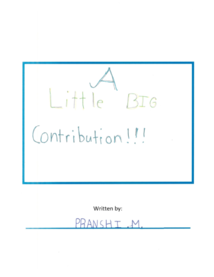 A Little Big Contributionby Pranshi-M. M.