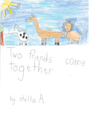 Two Friends Come Togetherby Stella A.