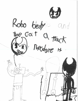 Robo Bedy and the Cat Attackby Theodore H.