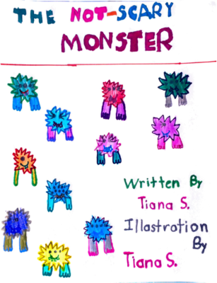 The Not-Scary Monsterby Tiana S.