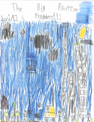 The Big Pollution Problem!!!by Anthony Joseph C.
