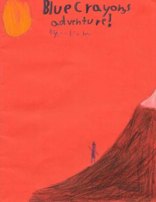 Blue Crayon's Adventureby Caden M.