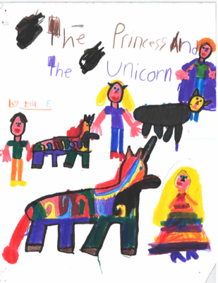 The Princess and the Unicornby Ella F.