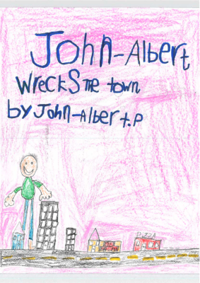 John Albert Wrecks The Townby John-Albert P.