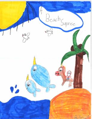 A Beach Surpriseby Tatum F.