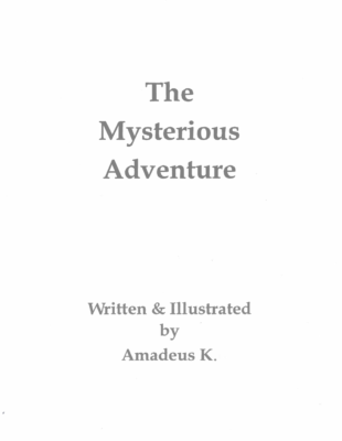 The Mysterious Adventureby Amadues K.