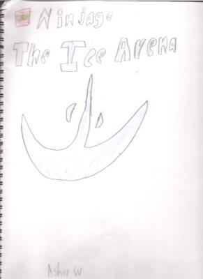 Ninjago: The Ice Arenaby Asher W.