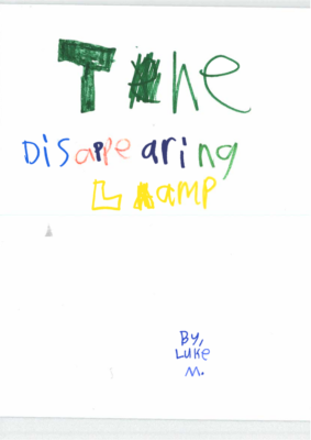 The Disappearing Lampby Luke M.