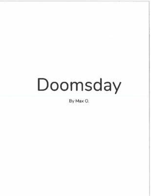 Doomsdayby Max O.