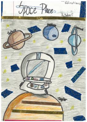 Space Placeby Sahara P.