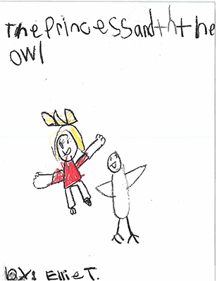 The Princess and the Owlby Ellie T.-C.