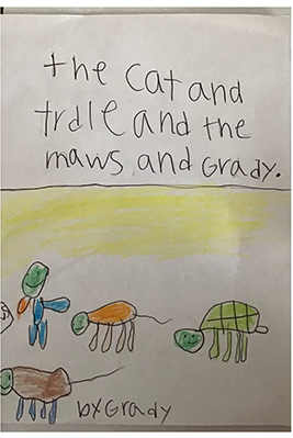 The Cat and Turtle and the Maws and Gradyby Grady B.